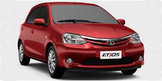 Harga Toyota Etios Valco Merah
