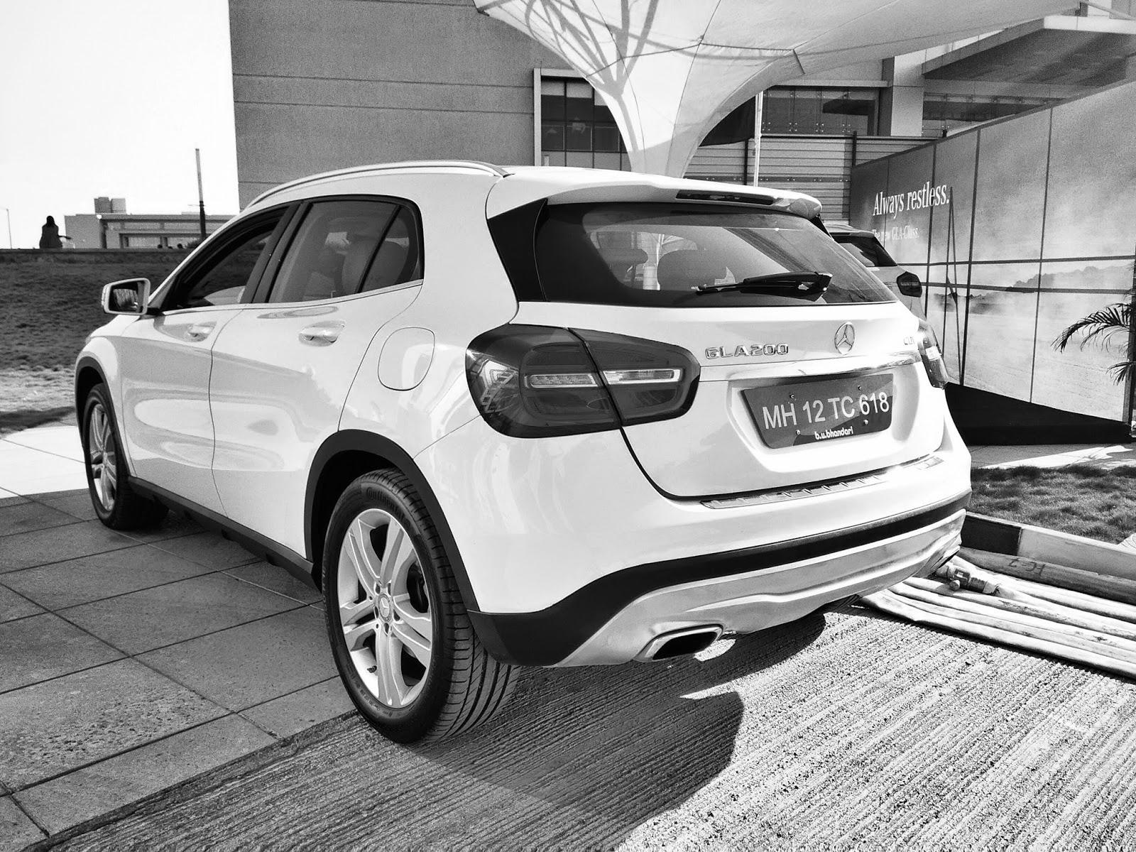 Mercedes Benz GLA 200 CDI India