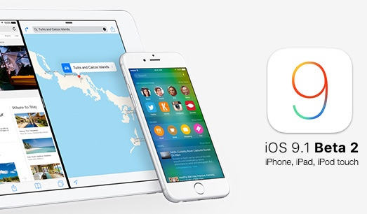 Download iOS 9.1 Beta 2 IPSW for iPad, iPhone & iPod Touch - Direct Links