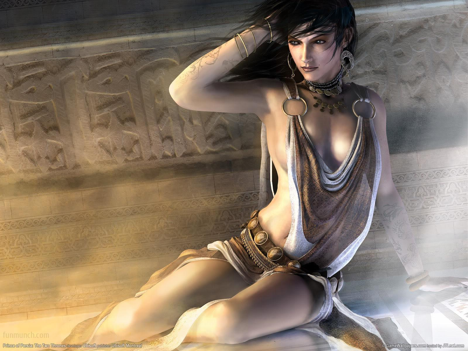 Prince of persia sexy nude queens anime movie