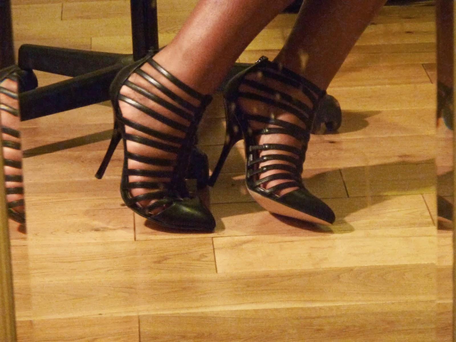 ASOS Tatum Gladiator Pointed Shoe Boot