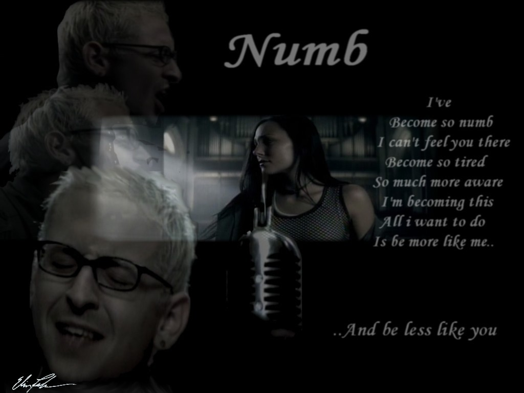 numb by linkin park related text Since their inception in 1996, linkin park have been one of the defining bands of  the  numb (official video) - linkin park  related topics.