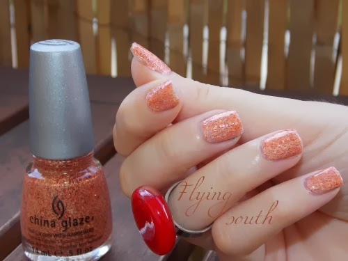 flying south china glaze polish blog beauté psychosexy