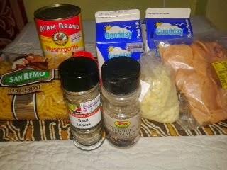 Resipi Macaroni carbonara Mudah