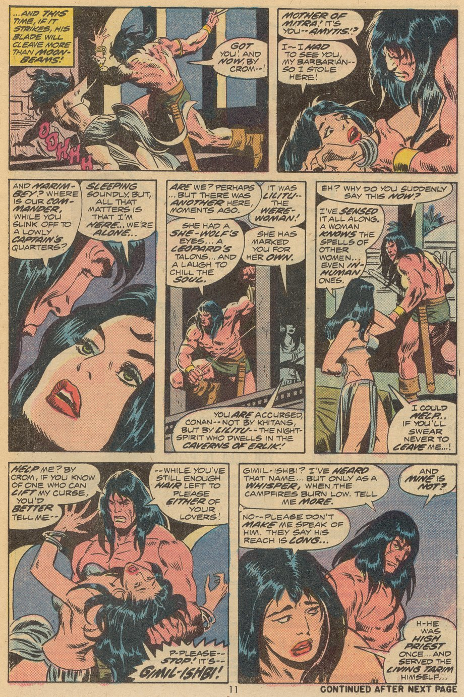 Conan the Barbarian (1970) Issue #38 #50 - English 8