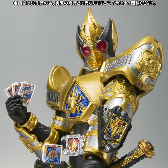 S.H. FiguArts Kamen Rider Blade King Form Announced - JEFusion