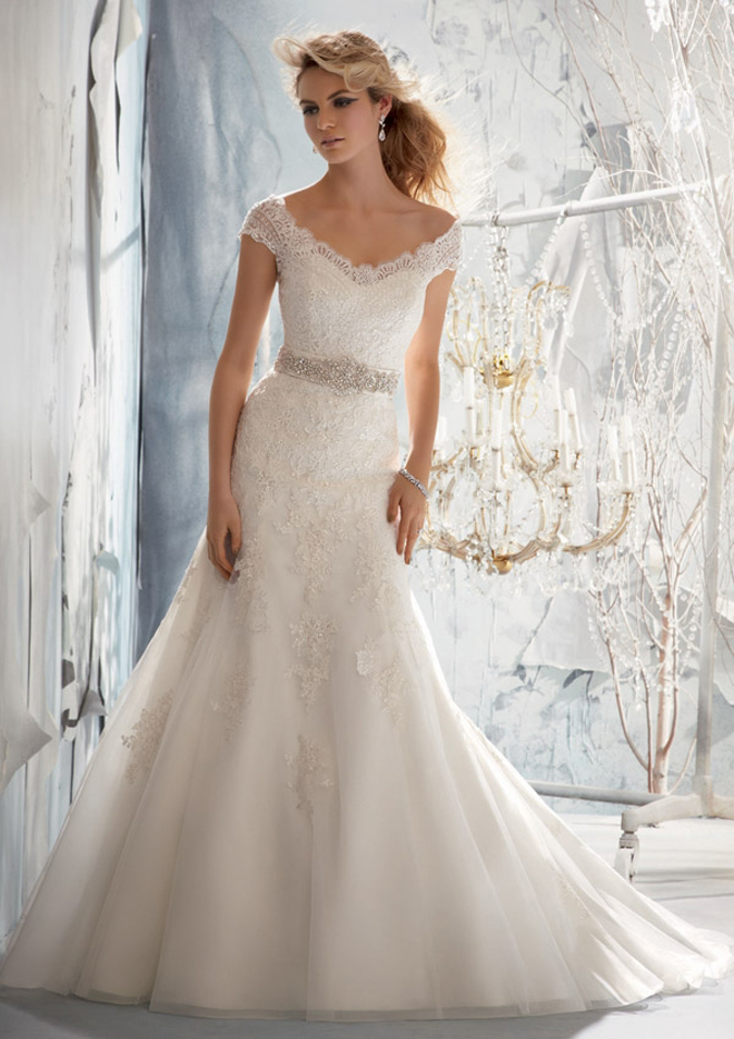Mori lee by madeline gardner fall 2013 bridal collection for 1960 style wedding dresses