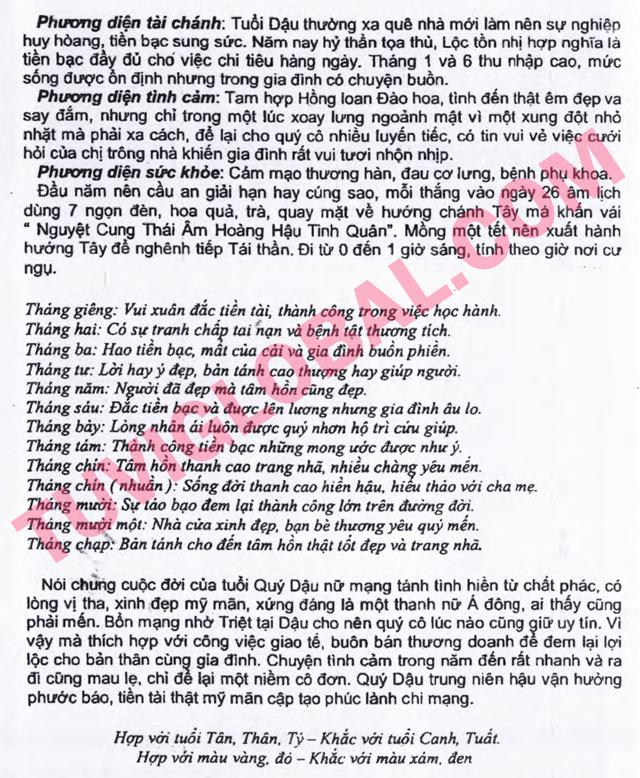 TỬ VI TUỔI QUÝ DẬU 1993 NĂM 2014 GIÁP NGỌ - Blog Trần ...