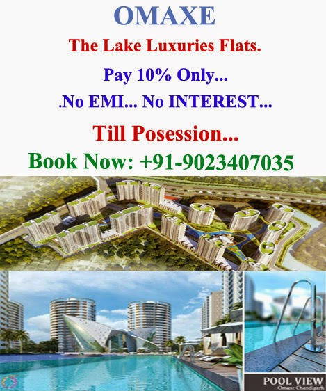 OMAXE THE LAKE FLATS MULLANPUR NEW CHANDIGARH