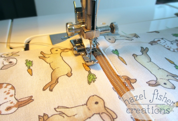 Rabbits sewing wip hazelfishercreations