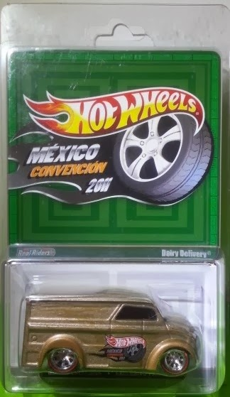 Hotwheels Dairy Delivery Convention Mexico 2011