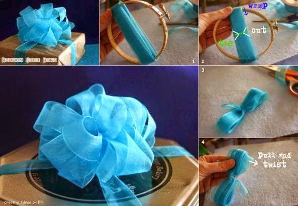 la casa de chichi DIY como hacer lazos con cintas