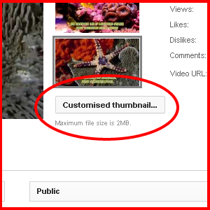 Adding HD custom Thumbnail for YouTube Videos