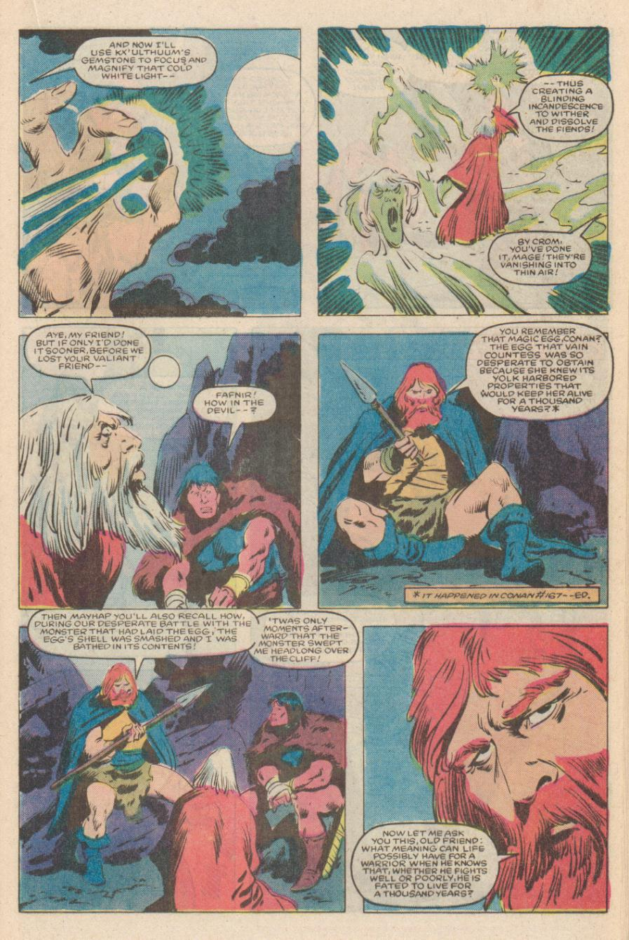 Conan the Barbarian (1970) Issue #170 #182 - English 16