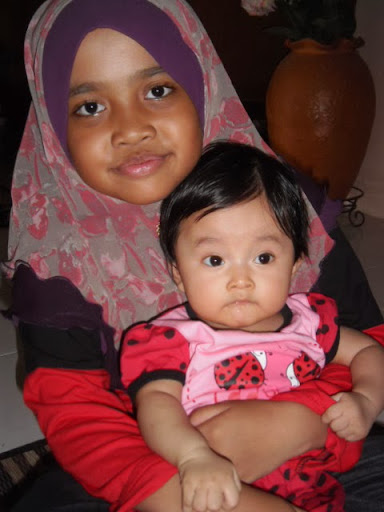 Annisa dengan kakak Aina