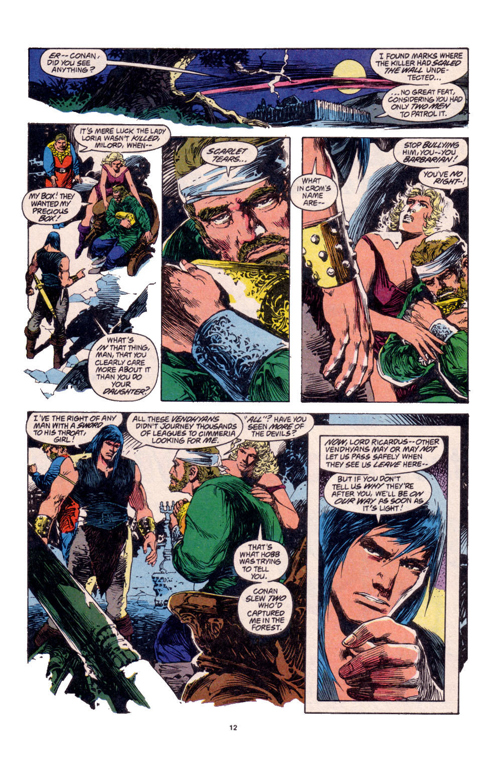 Conan the Barbarian (1970) Issue #261 #273 - English 10