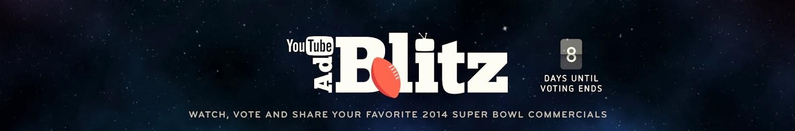 Youtube Ad Blitz: Bình Chọn Quảng Cáo Hay Nhất Trong Super Bowl 2014