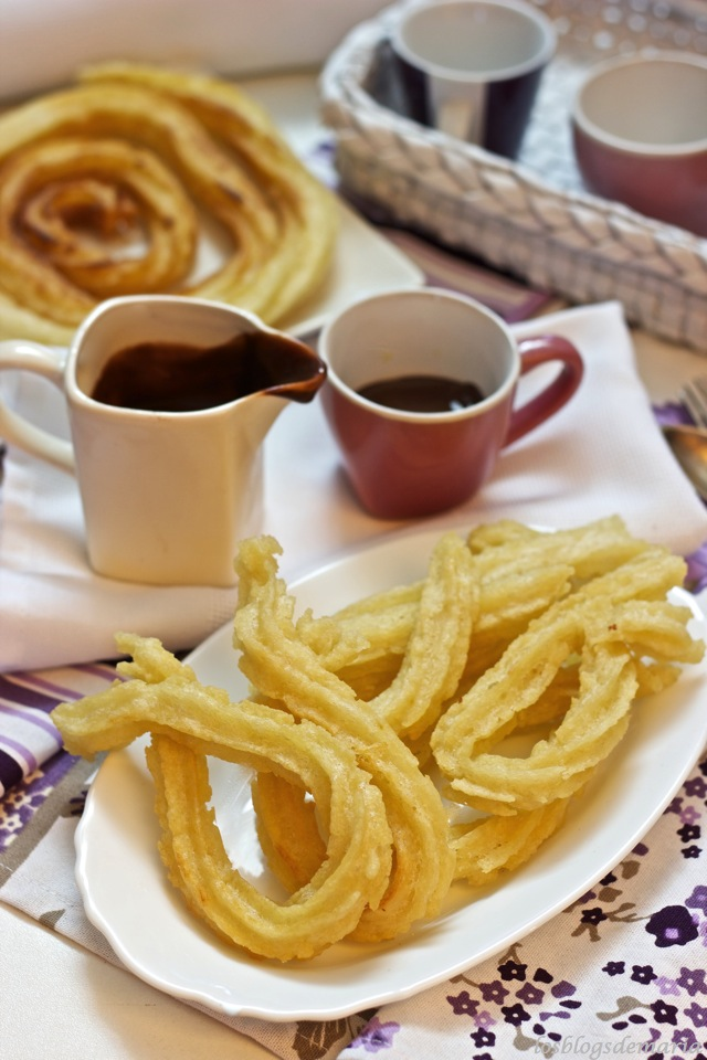 Video receta de churros caseros