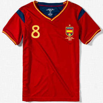 camiseta España niños Zara