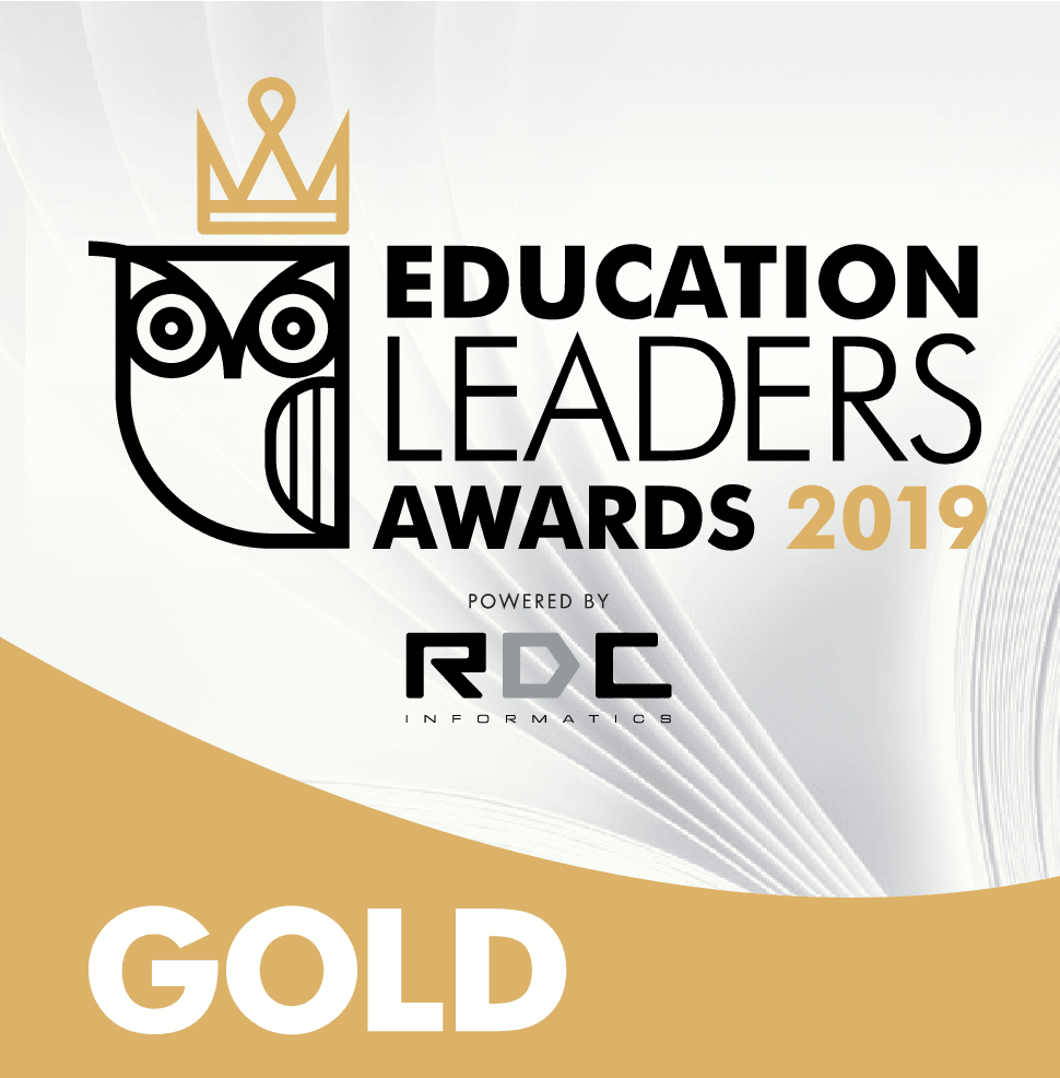 GOLD ΒΡΑΒΕΙΟ στα EDUCATION LEADERS AWARDS 2019
