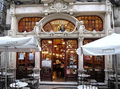 Fin de semana en Oporto. Café Majestic