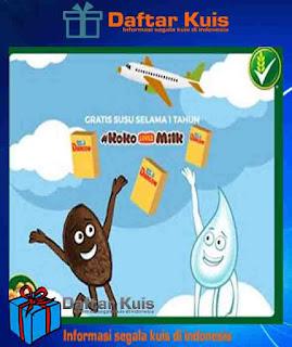 Undian Terbaru Koko Krunch Promo #KokoLovesMilk Gratis Susu SelamaSetahun