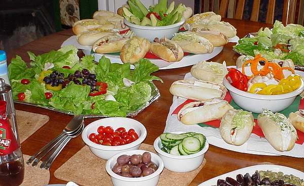 Comida r pida tipo buf vida social for Comida rapida para invitados