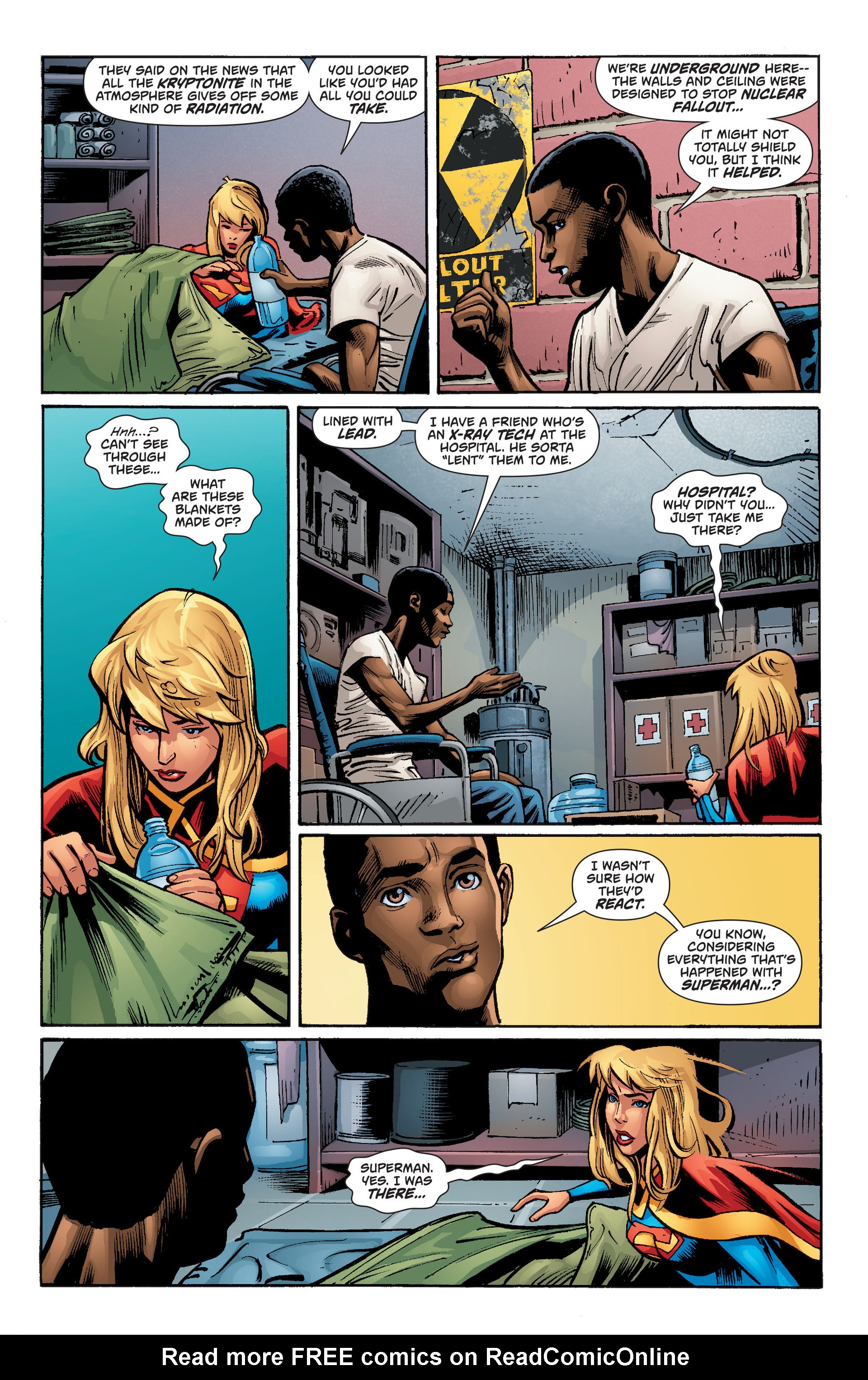 Supergirl (2011) Issue #34 #36 - English 5