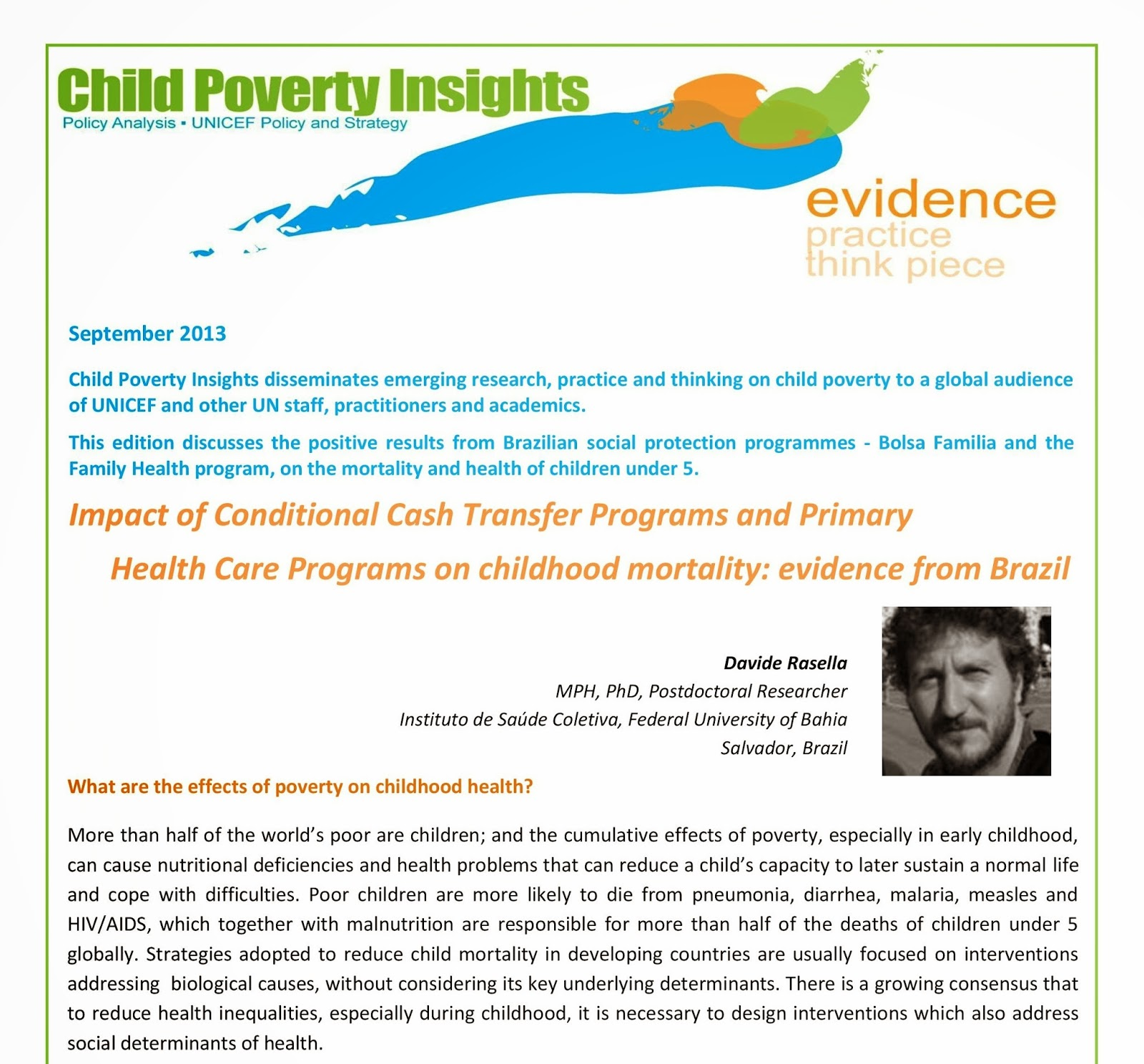 the effects of poverty essay The effects of poverty in our world high risk of poverty without these added benefits, people would be a lot worse than they are now the safety net programs reduced the child poverty rate from 24% before the benefits were counted down to 16% (egendorf: 1999, 19.