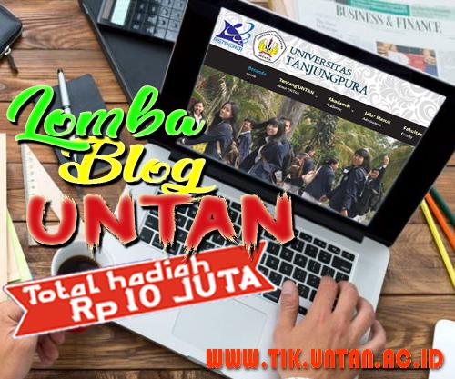 Lomba Blog Bersama Untan membangun Negeri