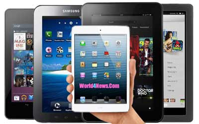 Apple iPad Mini vs Nexus 7 vs Kindle Fire HD vs Galaxy Tab