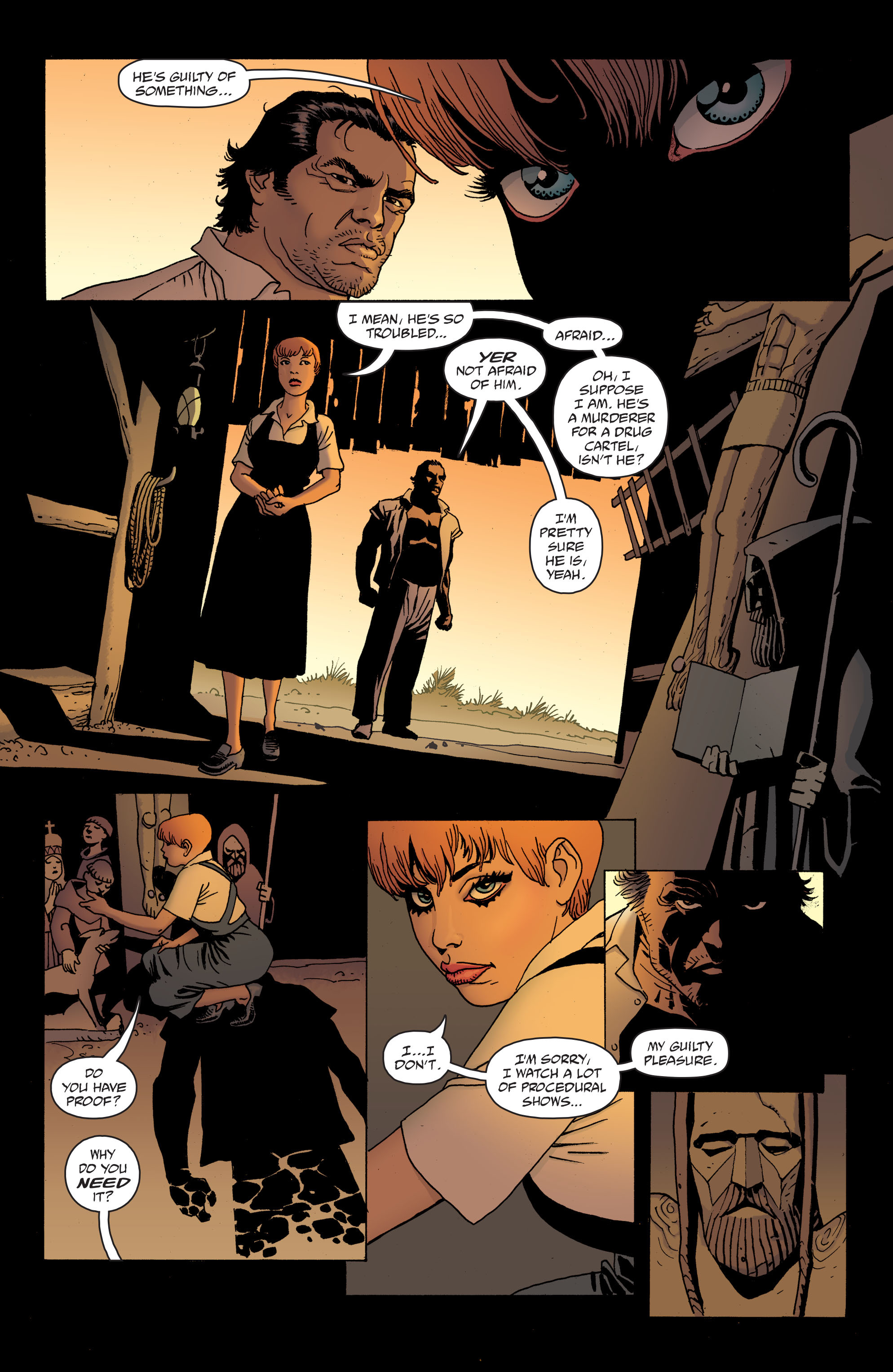 100 Bullets: Brother Lono Full Page 106