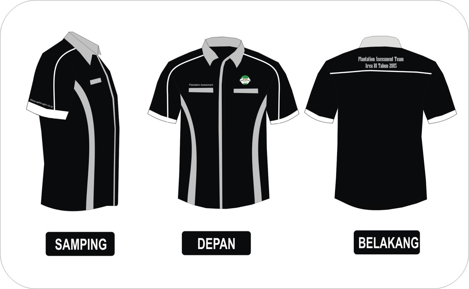 Design Graphics with Corel Draw: Desain Kaos kerah dan