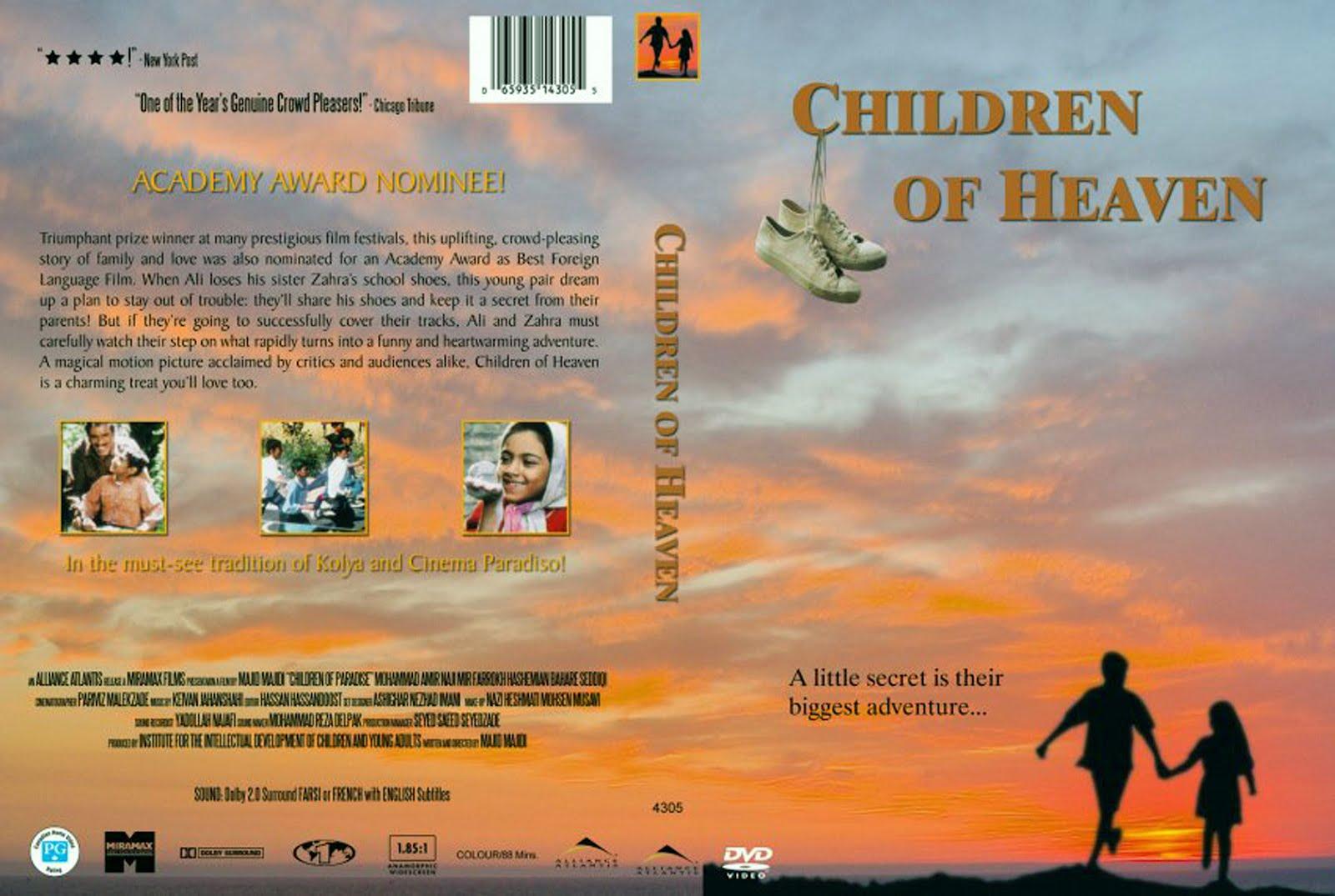 Children of Heaven Dvd Cover Art