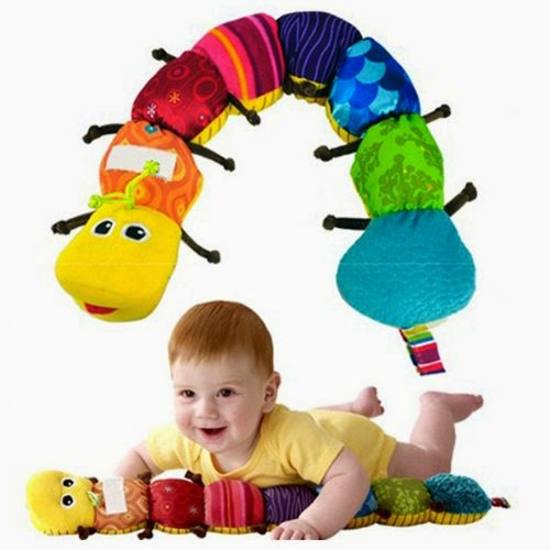 Colorful Musical Inchworm Developmental Baby Toy