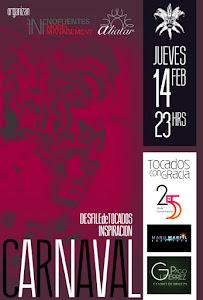 Desfile de Tocados Inspiración Carnaval JUEVES 14 DE FEBRERO PUB ALIATAR(C/RECOGIDAS)