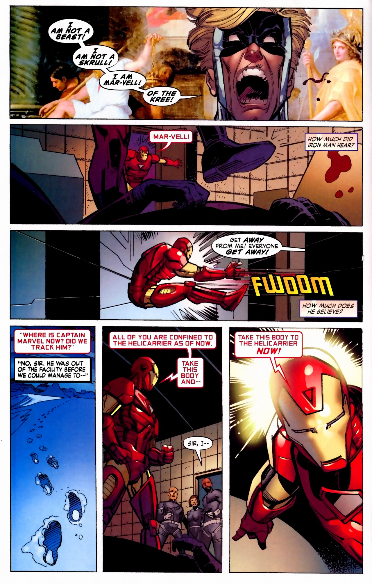 Read online Secret Invasion: The Infiltration comic -  Issue #5 - 9