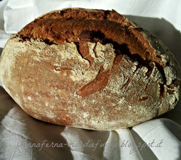 pane al farro e semola rimacinata e lievito madre il pane dell'amicizia