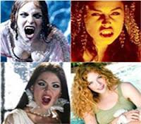 vampiras em filmes de terror