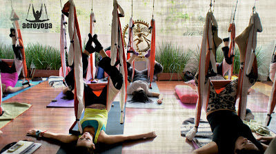 AERIAL YOGA AYURVEDA HEALTH