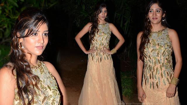 Chandini Chowdary Latest HD Photos At Ketugadu Audio Launch