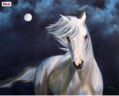 Saranas Gift It Changes Everything Symbolism Silver White Horse