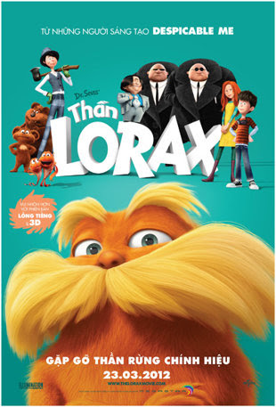 Thần Lorax - Dr Seuss The Lorax