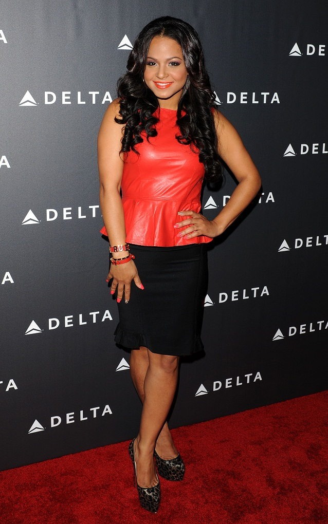 Christina Milian - Delta Airlines GRAMMY Week LA Reception (Feb. 7) 2013
