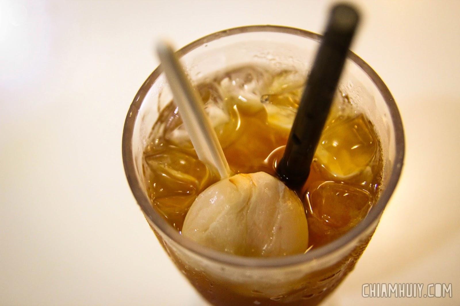 iced lychees recipes dishmaps iced tea rhubarb iced tea ginger iced ...
