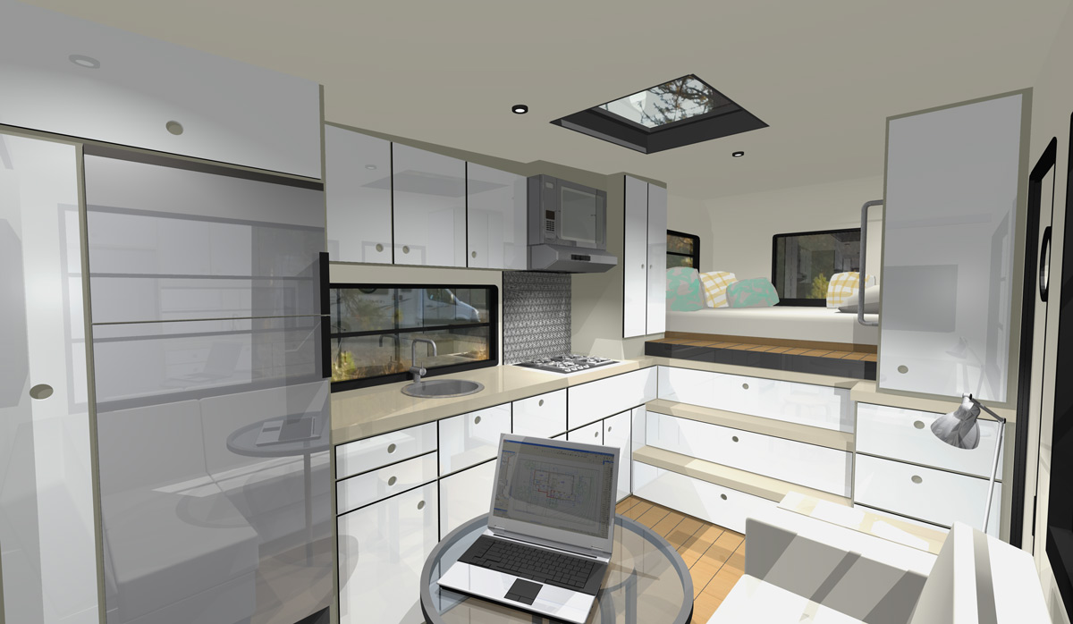 Mcm design custom motorhome design 2 Custom home interior design