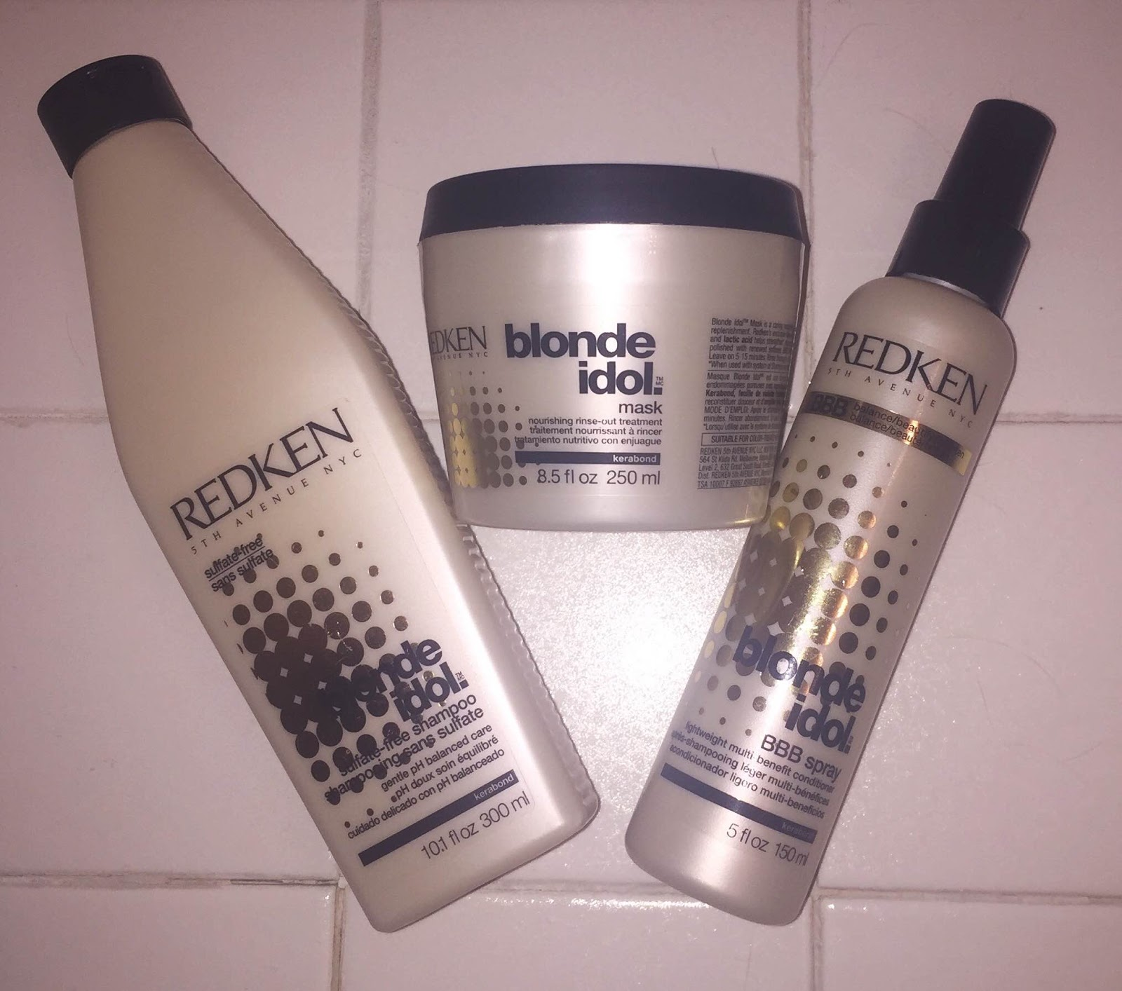The Beauty Of Life My Blondeambitiontour The Redken Blonde Idol
