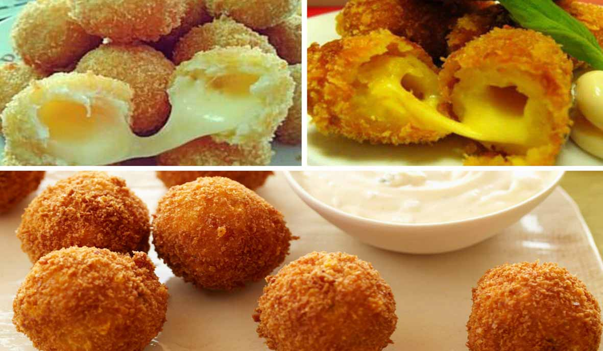 Resep Membuat Cheesy Ball