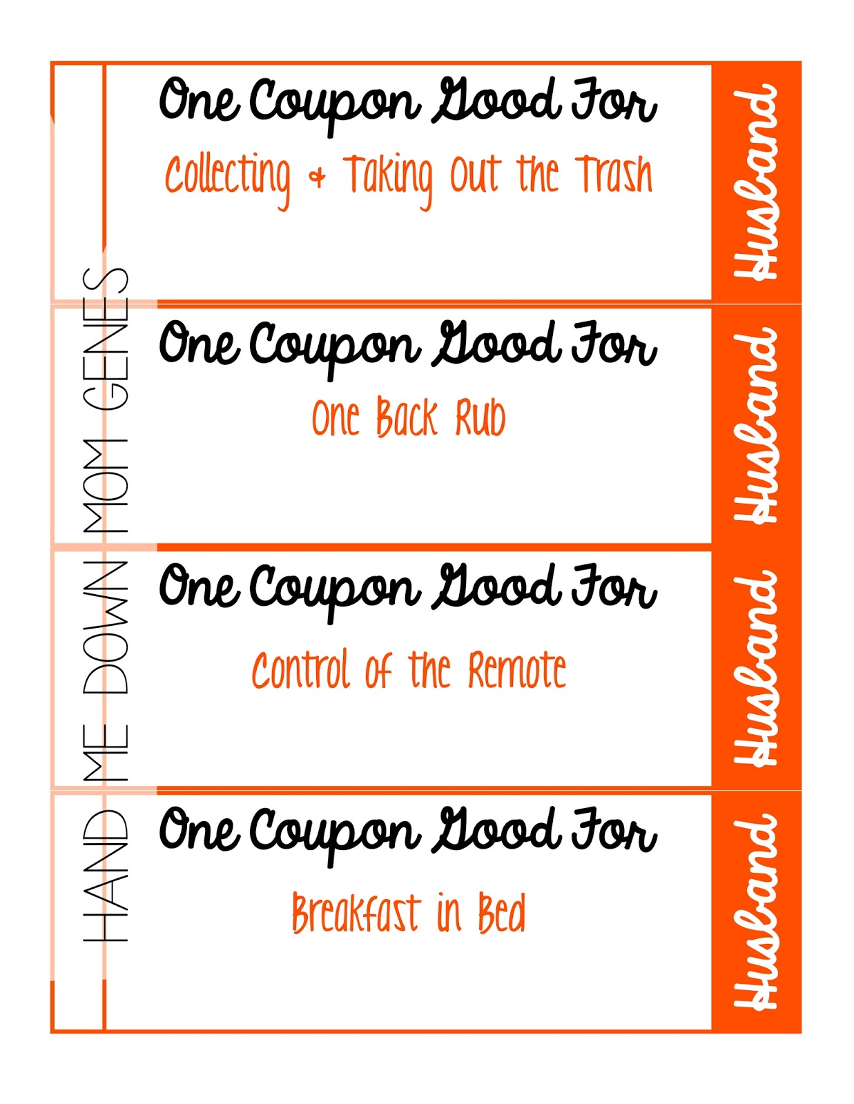 Select An Image And Text To Print Out For A Custom Coupon Book.  Free Coupon Book Template