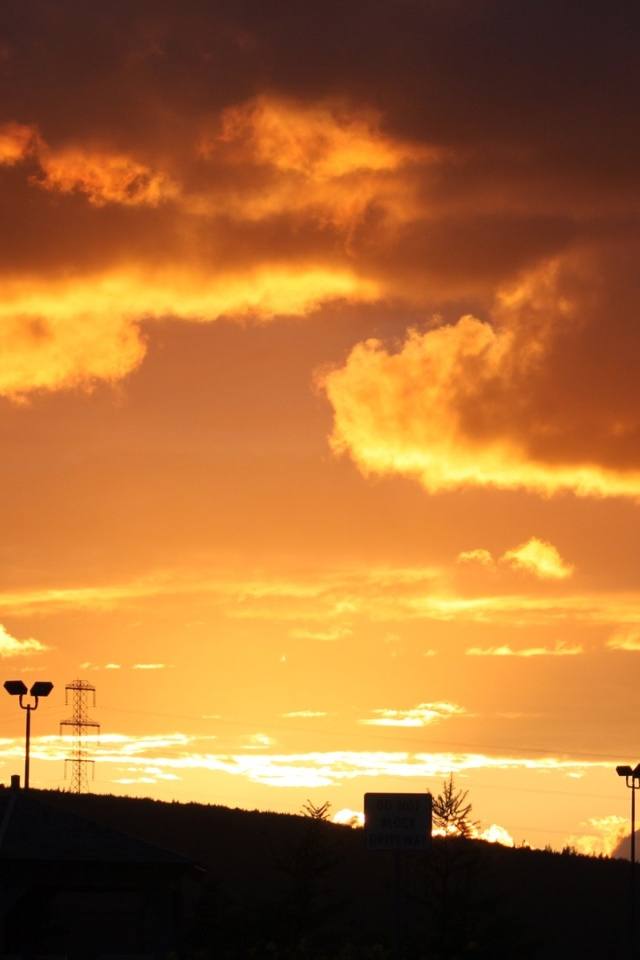 great sunset wallpapers for iphone 4